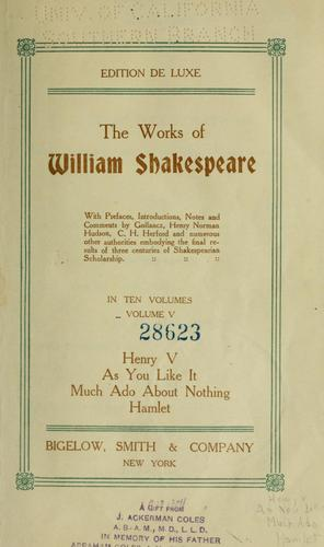 Download The works of William Shakespeare.