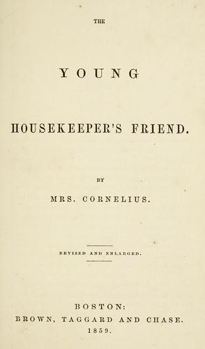 The young housekeeper's friend