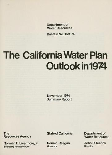 Download The California water plan