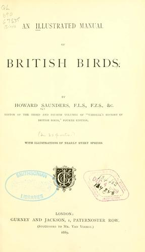 Download An illustrated manual of British birds.