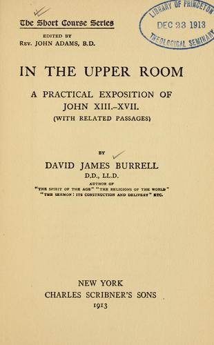 Download In the upper room