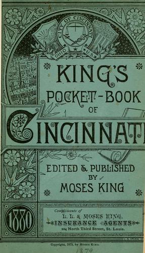 Download King's pocket-book of Cincinnati