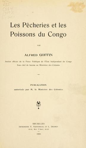 Download Les pêcheries et les poissons du Congo