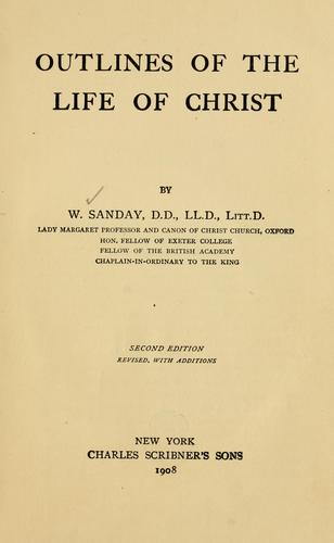 Download Outlines of the life of Christ