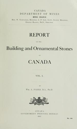 Download … Report on the building and ornamental stones of Canada