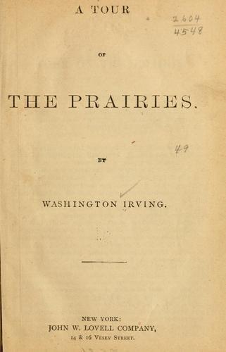 A tour of the prairies.
