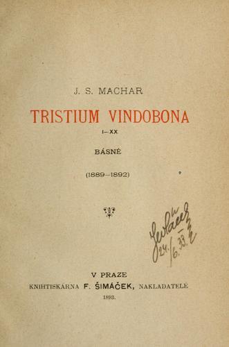 Tristium Vindobona, I-XX