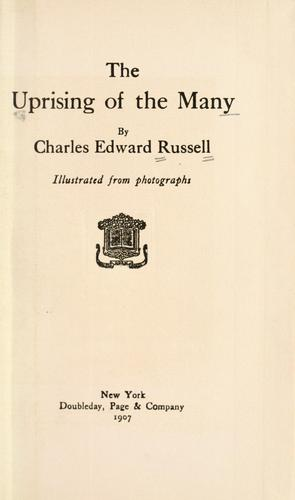 Download The uprising of the many