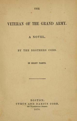 The veteran of the Grand Army