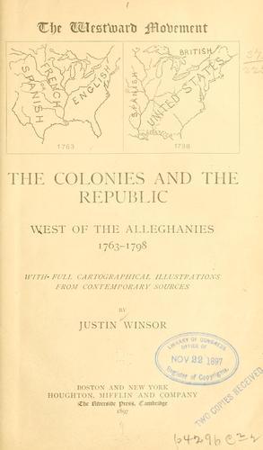 The westward movement …