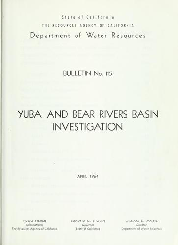 Download Yuba and Bear Rivers Basin investigation
