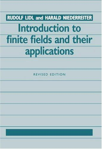 Download Introduction to finite fields and their applications