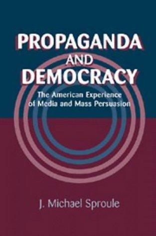 Download Propaganda and Democracy