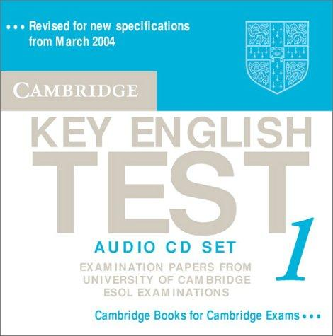 Cambridge Key English Test 1 Audio CD Set by Cambridge ESOL