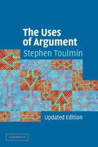 Download The Uses of Argument