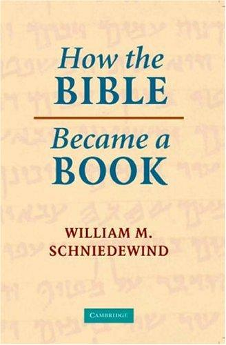 Download How the Bible Became a Book