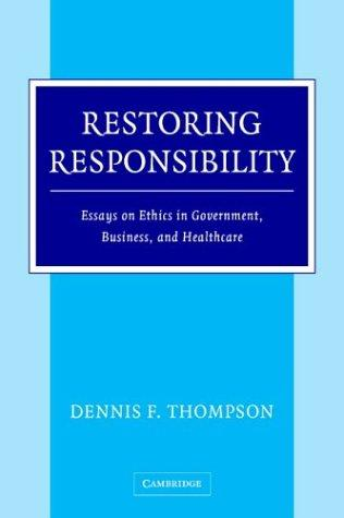 Download Restoring Responsibility
