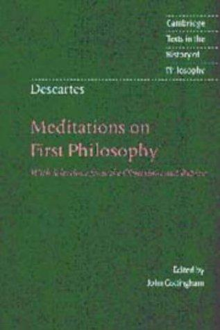 Download Meditations on first philosophy