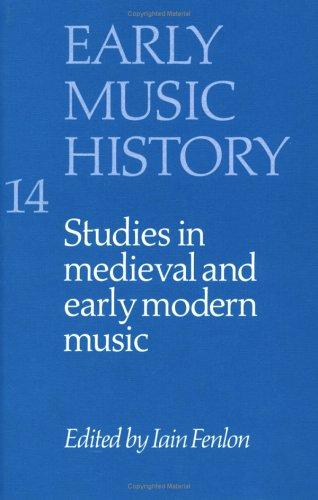 Download Early Music History