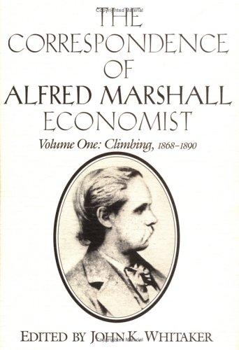 Download The correspondence of Alfred Marshall, economist