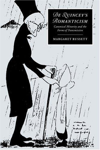 Download De Quincey's romanticism