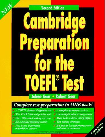 Download Cambridge preparation for the TOEFL test