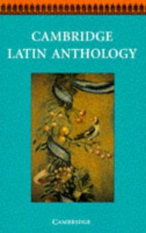 Download Cambridge Latin Anthology (Cambridge Latin Course)