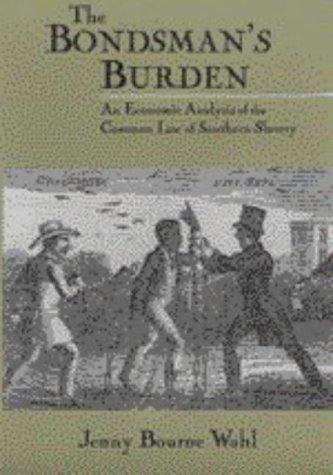 Download The bondsman's burden