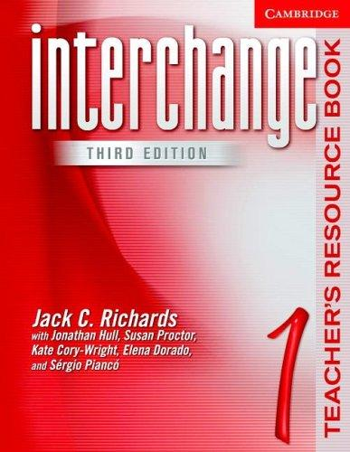 teacher book interchange 1 /  تیچر بوک اینترچنج 1