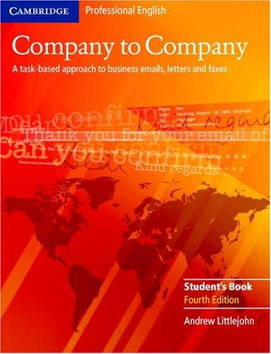 Download Company to Company Student's Book