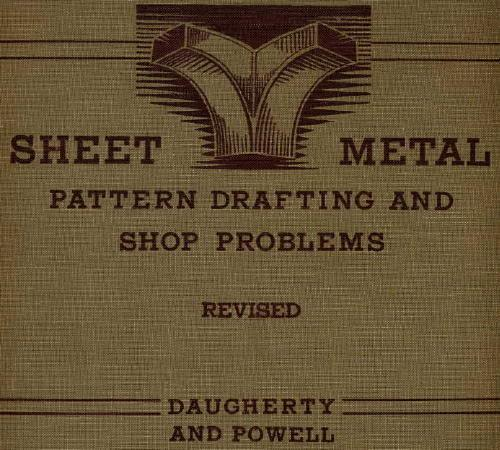 Download Sheet Metal Pattern Drafting and Shop Problems