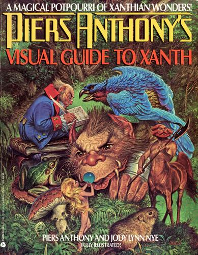 Download Piers Anthony's visual guide to Xanth