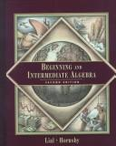 Download Beginning and intermediate algebra.