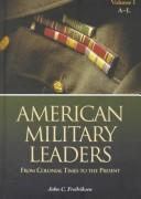 Image for American Military Leaders: From Colonial Times to the Present
