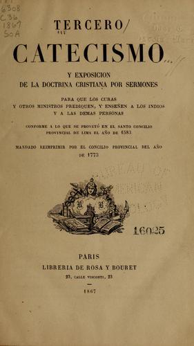 Download Tercero catecismo y exposicion de la doctrina christiana por sermones para que los curas