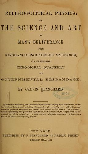Download Religio-political physics