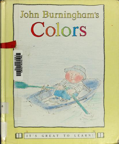 John Burningham's colors.