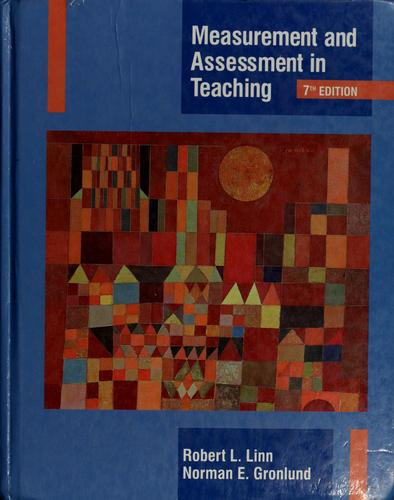 Download Measurement and assessment in teaching