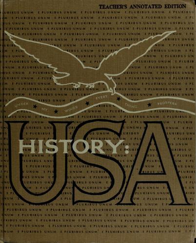 History: USA