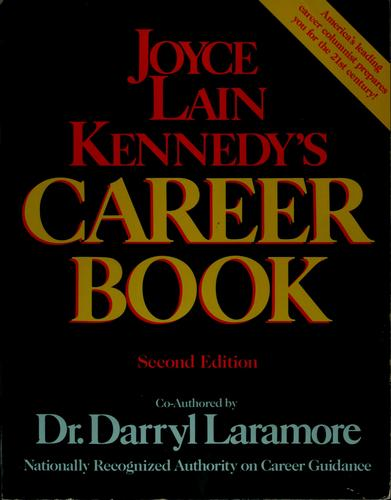 Joyce Lain Kennedy's career book