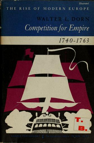 Competition for empire, 1740-1763