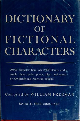 Download Dictionary of fictional characters.
