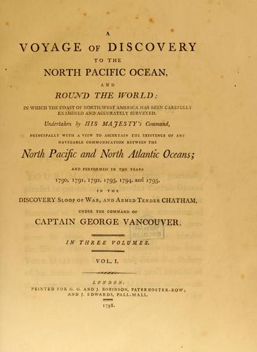 Download A voyage of discovery to the North Pacific ocean.