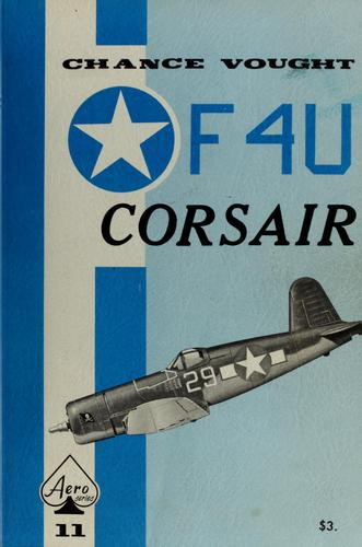 Chance Vought Corsair by Edward T. Maloney