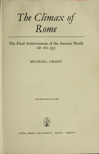 Download The climax of Rome