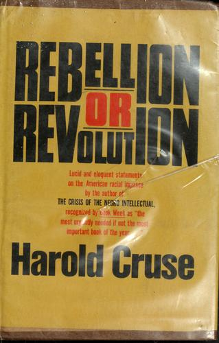Download Rebellion or revolution?