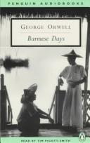 Burmese Days by George Orwell