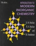 Download Introduction to modern inorganic chemistry