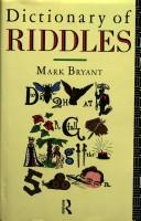 A dictionary of riddles