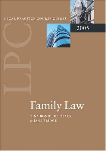 Family law.